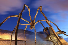 Maman - giant spider sculpture in Bilbao, Spain Stock Images