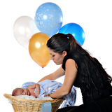 Maman neuve photo libre de droits