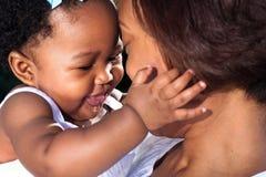 Maman neuve heureuse Photographie stock