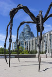 Maman sculpture in front of National Gallery in Ottawa, Canada Royalty Free Stock Images