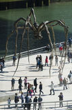 Maman sculpture, by Louise Bourgeois, Guggenheim Museum, Bilbao Royalty Free Stock Photography