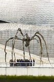Maman sculpture, by Louise Bourgeois, Guggenheim Museum, Bilbao Stock Photo
