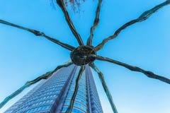 Maman - uma escultura da aranha em Roppongi Hills no Tóquio Foto de Stock Royalty Free