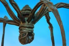 Maman - uma escultura da aranha na construção da torre de Mori no Tóquio Fotos de Stock