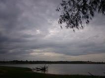 Mamandur Lake Stock Images