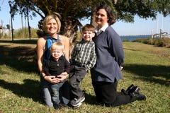 Mamas e hijos Imagen de archivo libre de regalías