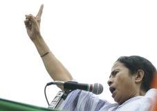 Mamata Banerjee. Zdjęcia Stock