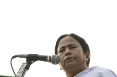 Mamata Banerjee. Fotografia Royalty Free