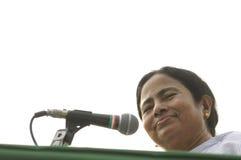 Mamata Banerjee. Obrazy Stock