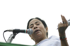 Mamata Banerjee. Royalty Free Stock Photography