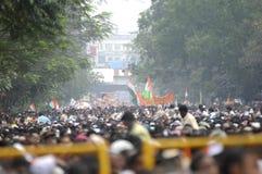 Mamata Banerjee Rally in Kolkata. Stock Image
