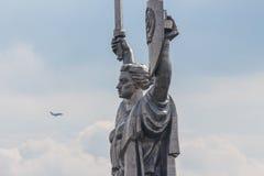 Mamayev kulle, Volgograd, Ryssland arkivbild