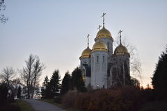 Mamayev Kurgan - αναμνηστικός σύνθετος Στοκ φωτογραφία με δικαίωμα ελεύθερης χρήσης