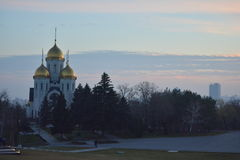 Mamayev Kurgan - мемориальный комплекс Стоковые Фото