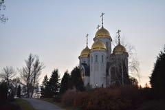 Mamayev Kurgan - complexe commémoratif photographie stock libre de droits
