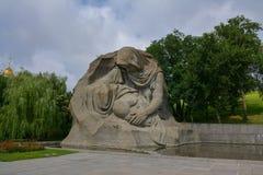 Mamayev Kurgan Stock Photography