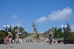 Mamayev Kurgan Royalty Free Stock Images