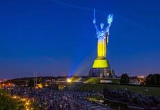 Mamayevheuvel, Volgograd, Rusland Stock Foto's