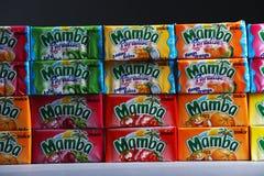 Mamba packs, Limited Edition, isolated Royalty Free Stock Photos