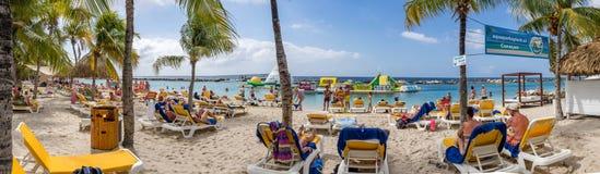 Mambo beach - panoroma Royalty Free Stock Photography