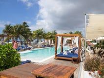 Mambo beach - swimming pool Stock Photography