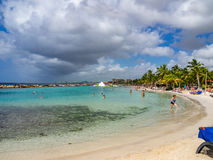 Mambo beach Royalty Free Stock Image
