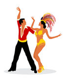 Mambo dancers Royalty Free Stock Photos