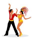Mambo dancers Royalty Free Stock Photos