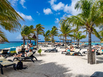 Mambo plaża obrazy stock