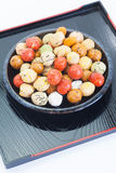 Mame kichi japanese sweets beans Royalty Free Stock Photography