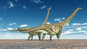 Mamenchisaurus de dinosaure illustration libre de droits