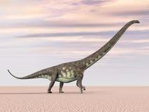 Mamenchisaurus de dinosaure illustration de vecteur