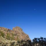 Mamie Canaria, les régions les plus élevées de l'île, Las Cumbres Photos stock