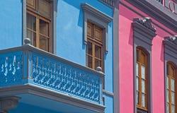 Mamie Canaria, vieux détail de ville de Las Palmas image libre de droits