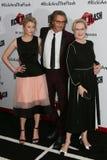 Mamie Gummer, Rick Springfield, Meryl Streep Royalty Free Stock Image