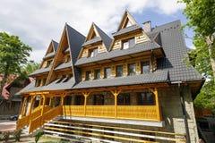 Mamie, maison de vacances dans Zakopane Image stock
