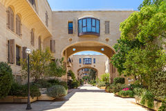 Mamilla Kfar David neighborhood in Jerusalem, Israel. Stock Photos