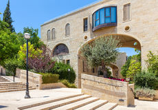 Mamilla Kfar David neighbourhood in Jerusalem. Stock Image