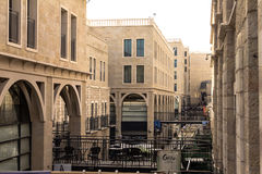 Mamilla shopping street. Located by Jaffa gate.  Mamilla shopping street. Located by Jaffa gate Stock Images