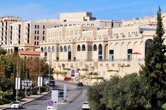 Mamilla zakupy centrum handlowe w Jerozolimski Izrael Zdjęcia Royalty Free