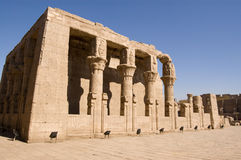 Mamissi, tempiale di Horus, Edfu, Egitto Immagini Stock