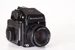 Mamiya 645媒介格式照相机 图库摄影