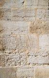 Mamluks期间的块墙壁的纹理在圣殿山的在耶路撒冷 库存图片