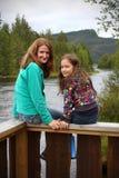 Mamma с дочью Стоковое Изображение