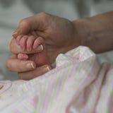 Mamma & Baby Stock Foto's