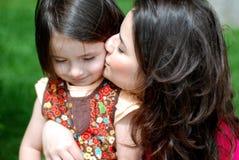 Mamma & figlia Fotografia Stock