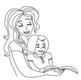 Risultati immagini per mamma che legge a un figlio