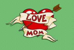 Mamma di amore Immagini Stock