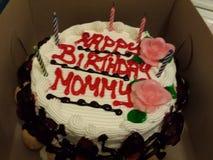 Mamma di buon compleanno Fotografie Stock