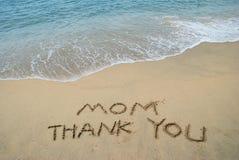 Mamma di ringraziamenti Fotografie Stock